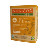 Sun God Organic Serenity Tea - Little Mary and Jane
