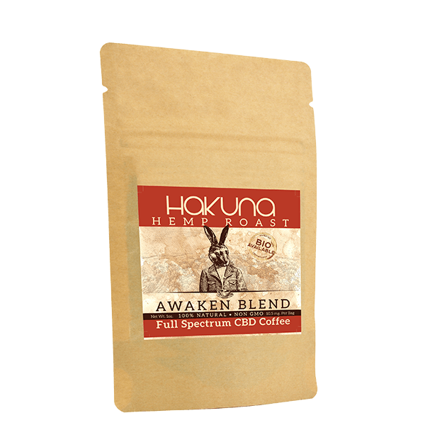 Hakuna Awaken Blend Full Spectrum CBD Coffee - Little Mary and Jane