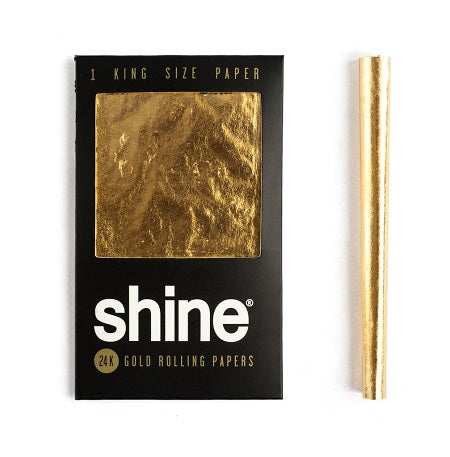 Shine King Size Rolling Paper - Little Mary and Jane