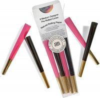 Black with Power Pink Pre Rolled Cones by Beautiful Burns - Little Mary and Jane