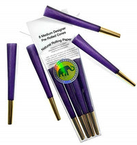 Purple Royal Pre Rolled Cones by Elephant Rolling Papers - Little Mary and Jane