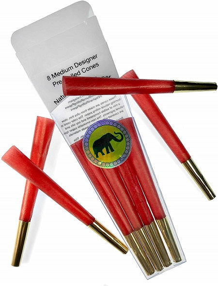 Ruby Slippers Holiday Red  Pre Rolled Cones by Elephant Rolling Papers - Little Mary and Jane
