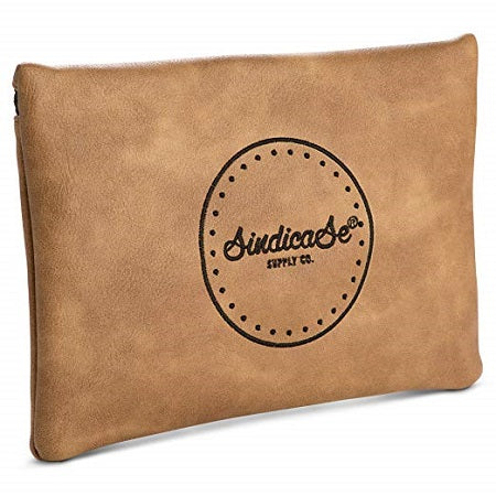 Tan Combination - Sindicase Odor Proof Locking Bag - Little Mary and Jane