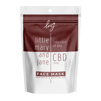 Little Mary and Jane CBD Sheet Face Mask - Little Mary and Jane