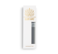 Bloom Farms Classic Grey Vapor Battery - Little Mary and Jane