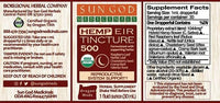 Sun God Menstrual Support Tea and CBD Tincture 500mg - Little Mary and Jane