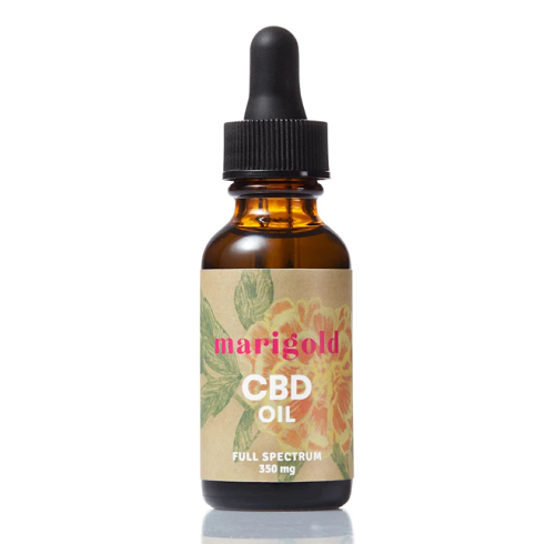 Marigold Botanical CBD Oil - 1 Oz - Little Mary and Jane