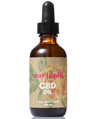 Marigold Botanical CBD Oil - 2 Oz - Little Mary and Jane
