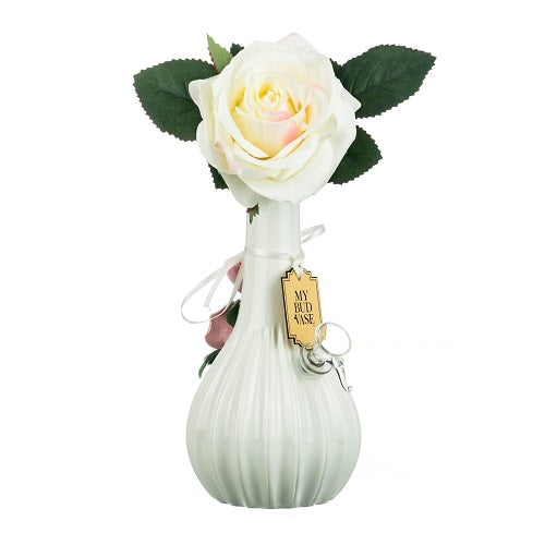 Rose by My Bud Vase - Little Mary and Jane