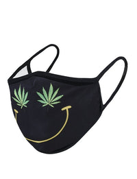 Smiley Print Washable and Reusable Face Mask - Little Mary and Jane
