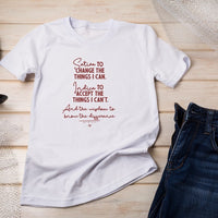 Wisdom Unisex T Shirt - Little Mary and Jane