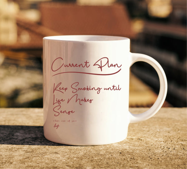 Current Plan Mug - Little Mary and Jane
