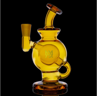 MJ Arsenal Amber Atlas Mini Dab Rig LE - Little Mary and Jane