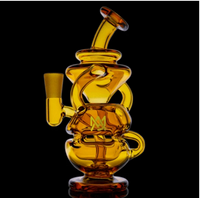 MJ Arsenal Amber Infinity Mini Dab Rig LE - Little Mary and Jane