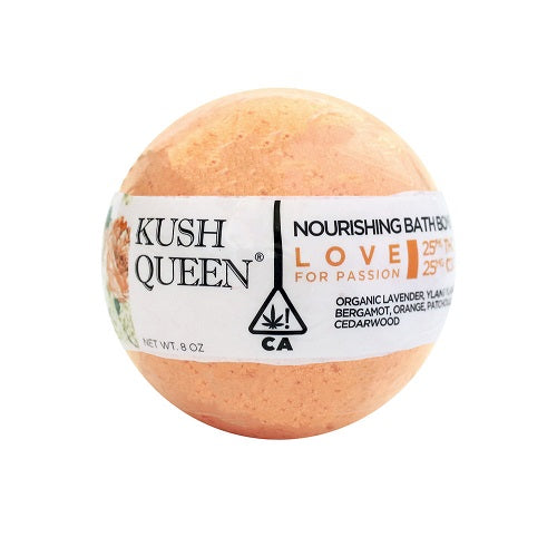 Kush Queen Love Bath Bomb - 25mg - Little Mary and Jane