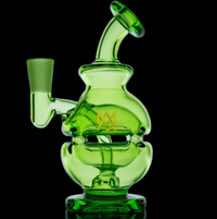 MJ Arsenal Matrix Green Royale Mini Dab Rig LE - Little Mary and Jane