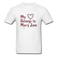 My Heart Belongs to Mary Jane Unisex T Shirt - Little Mary and Jane