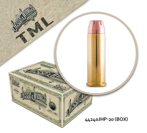 Jesse James TML 44 Magnum 240 gr Jacketed Hollow Point  - Box of 20