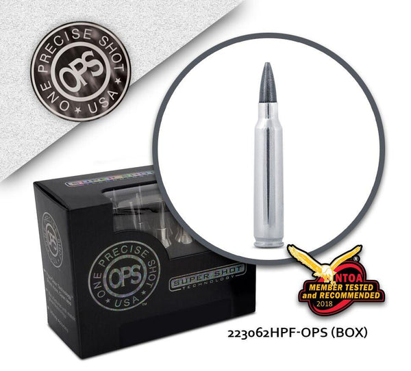 OPS 223 Remington 62 gr Hollow Point Frangible  - Box of 20