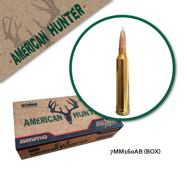 American Hunter 7MM Rem Mag 160 gr AccuBond - 20 Rounds
