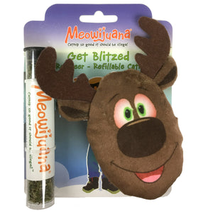 Get Blitzed Refillable Reindeer - Case Pack - 12/case