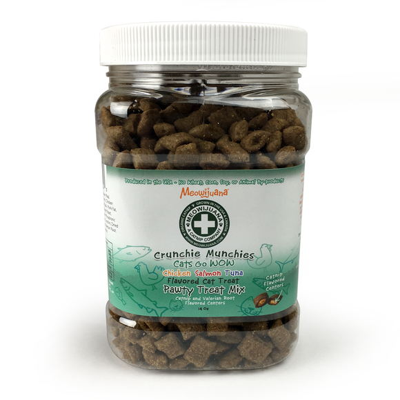 Crunchie Munchie - Pawty Mix Jar of Treats - 4/Case