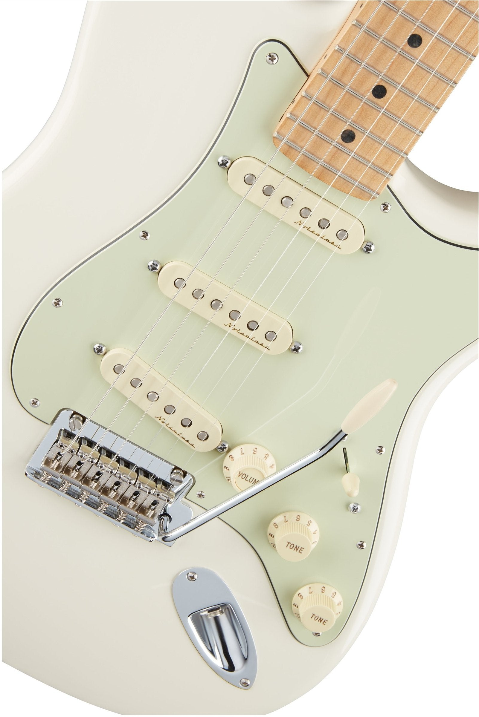 Fender Mexican Deluxe Roadhouse Stratocaster - Olympic White