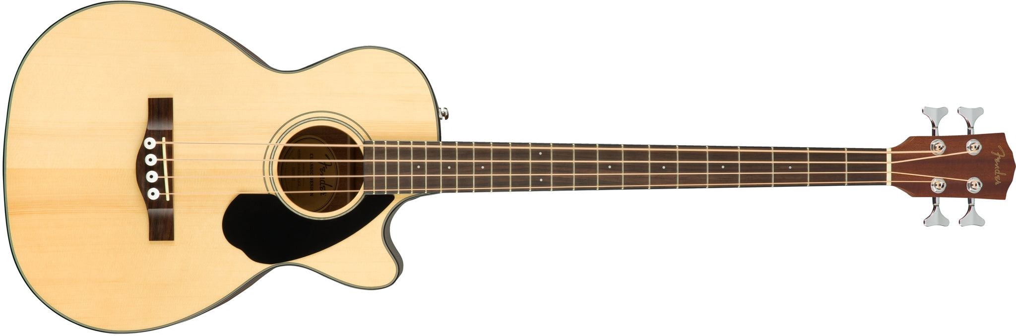 Fender CB-60SCE Acoustic Bass-Natural Wood