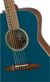Fender Malibu Classic Acoustic / Electric Guitar - Cosmic Turquoise