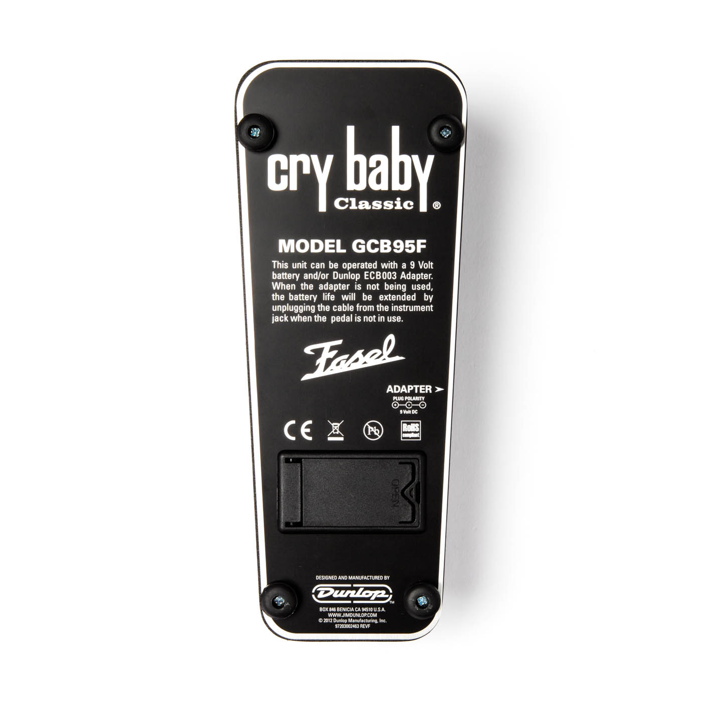 Dunlop Cry Baby Classic Wah Pedal