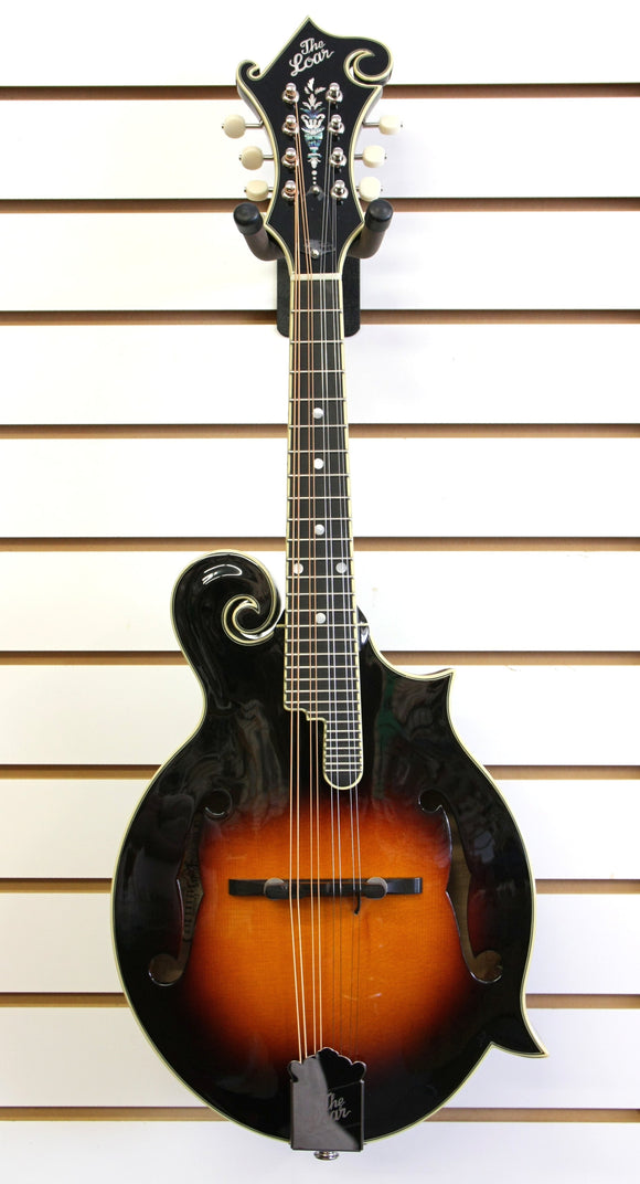 The Loar LM-600E-VS F-Style Acoustic Electric Mandolin