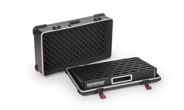RockBoard QUAD 4.2, Pedalboard with ABS Case