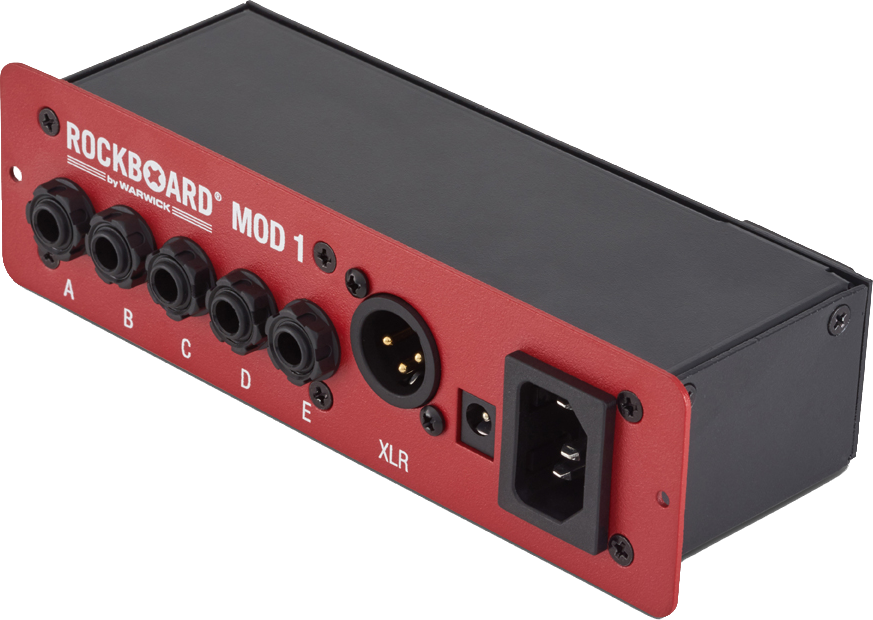 RockBoard MOD 1 - All-in-one Patchbay - TRS, XLR & Barrel