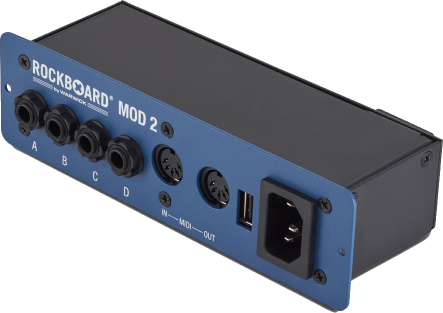 RockBoard MOD 2 - All-in-one Patchbay - TS/TRS, MIDI & USB