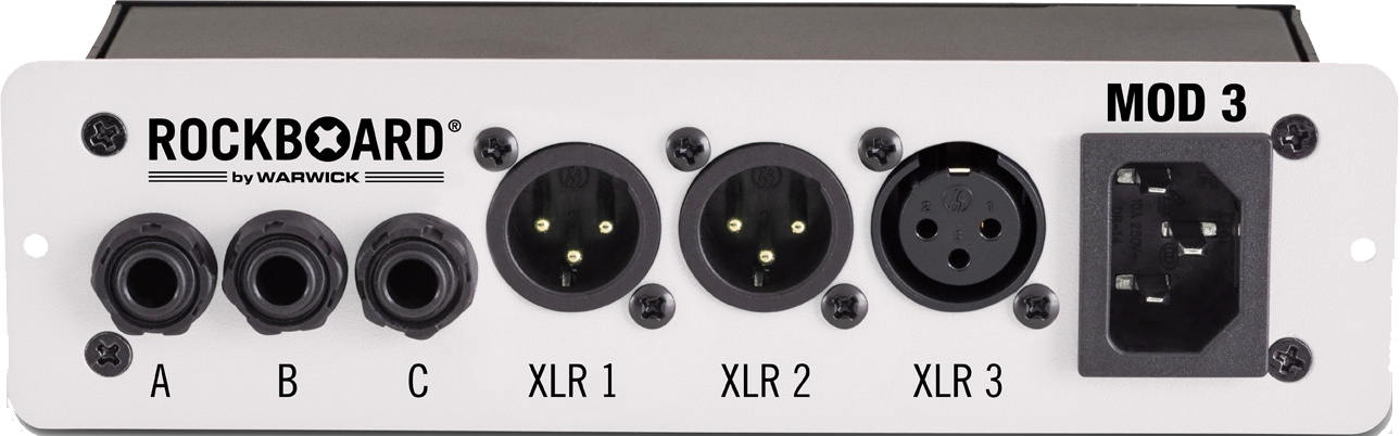 RockBoard MOD 3 - All-in-one Patchbay - XLR & TRS for Vocalists