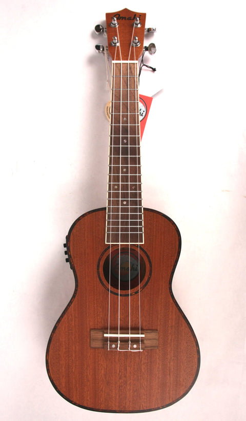 Amahi UK-220C-EQ Acoustic/Electric Concert Ukulele Uke Mahogany NEW w/ Gig Bag FREE SHIPPING