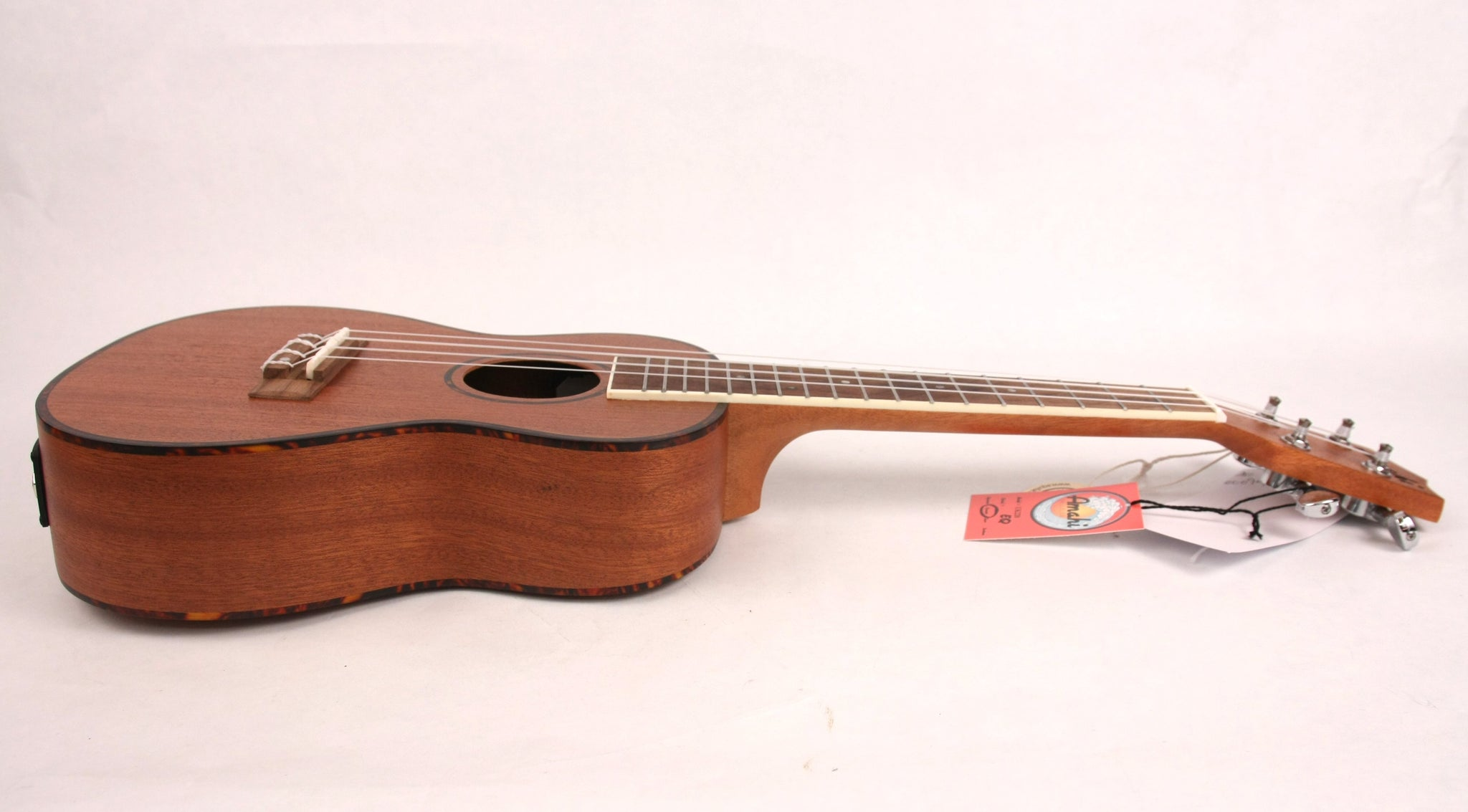 Amahi UK-220C-EQ Acoustic/Electric Concert Ukulele Uke Mahogany NEW w/ Gig Bag