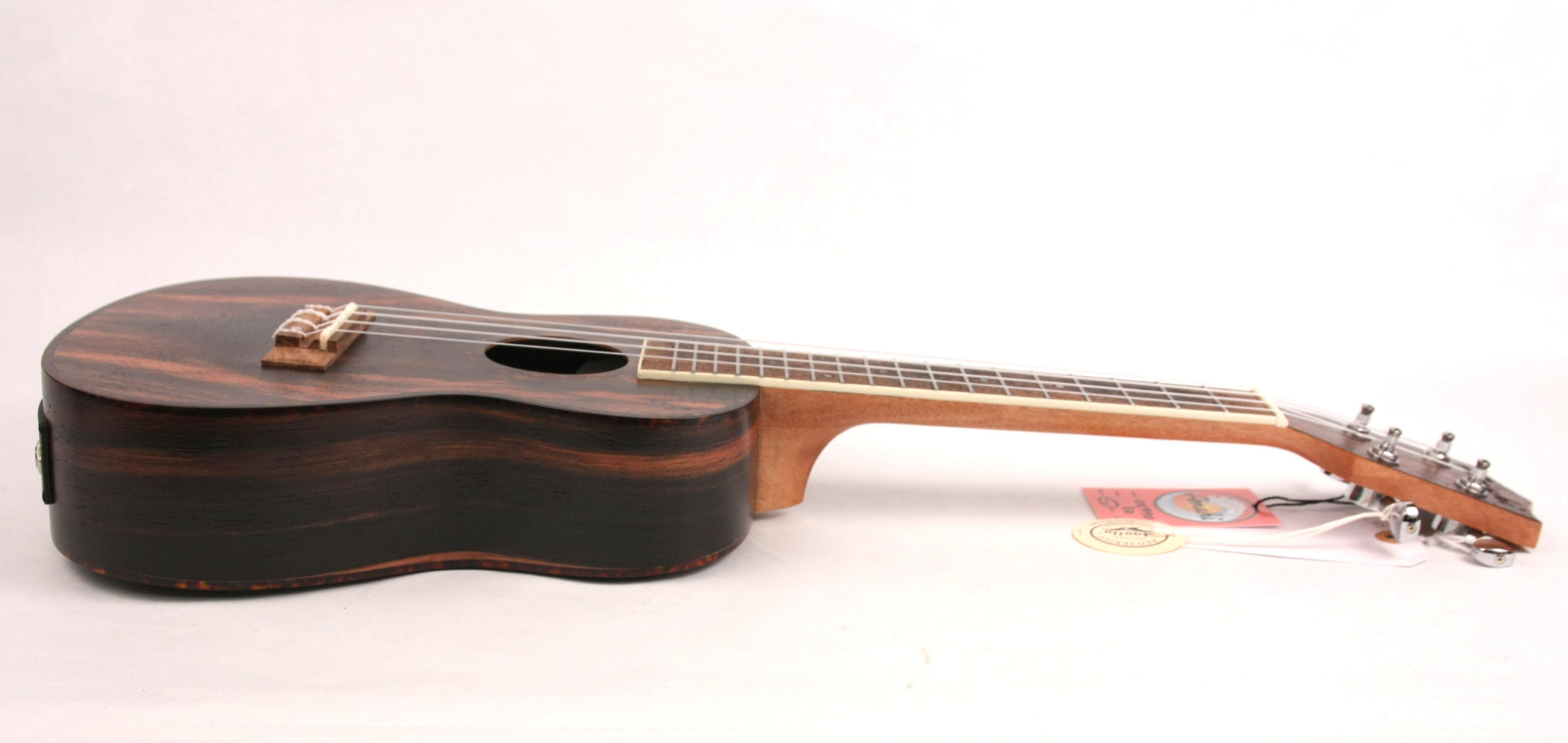 Amahi UK-990C-EQ Acoustic/Electric Concert Ukulele Uke Ebony NEW w/ Gig Bag FREE SHIPPING