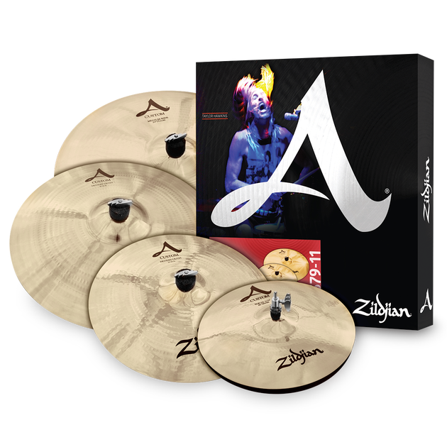 Zildjian A Series A-391 Sweet Ride Cymbal Pack 5-Set - Taylor Hawkins - USED GEAR
