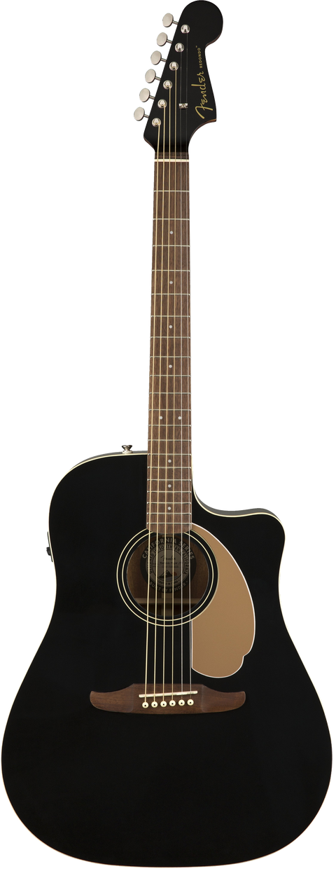 Fender Redondo Player Acoustic / Electric Guitar - Jetty Black
