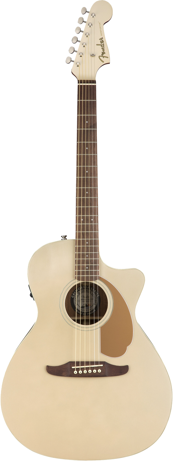 Fender Newporter Player Acoustic / Electric Guitar - Champagne