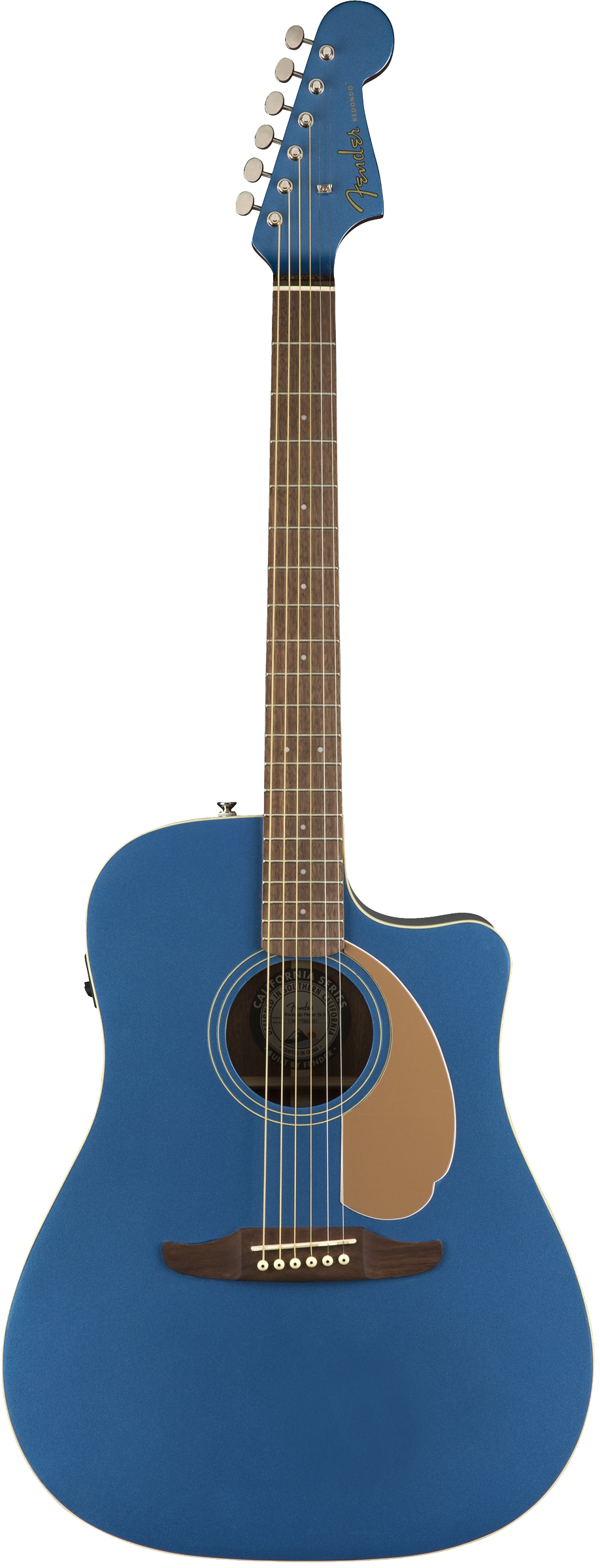 Fender Redondo Player Acoustic / Electric Guitar - Belmont Blue