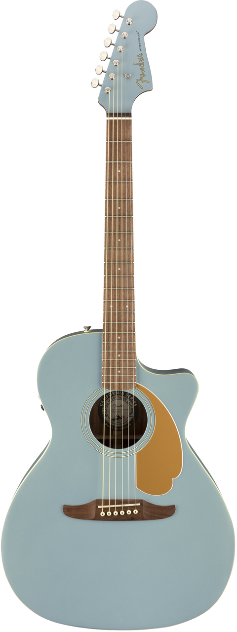 Fender Newporter Player Acoustic / Electric Guitar - Ice Blue