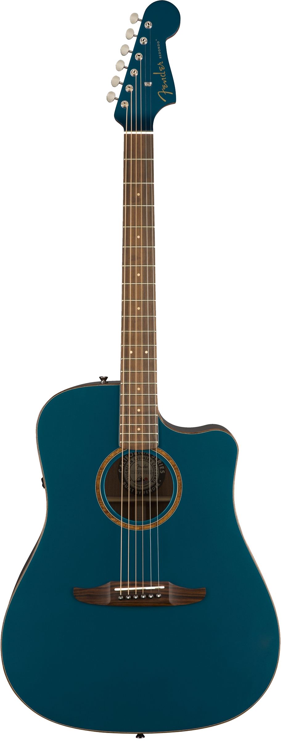 Fender Redondo Classic Acoustic / Electric Guitar - Cosmic Turquoise
