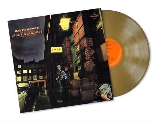 David Bowie - Ziggy Stardust - Limited Edition 45th Anniversary Gold Vinyl