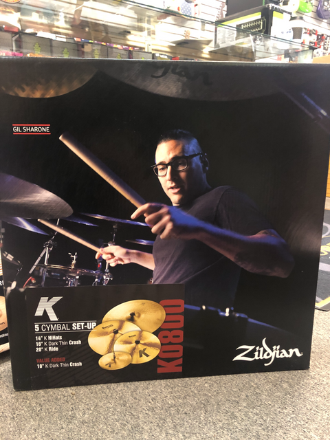 Zildjian K Series 5 Cymbal Set-Up Pack Dark Crash Thin Ride K0800 Gil Sharone - USED GEAR