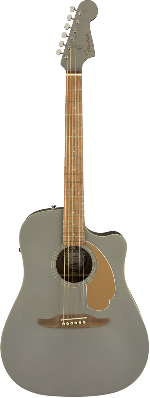 Fender Redondo Player Acoustic / Electric Guitar - Slate Satin