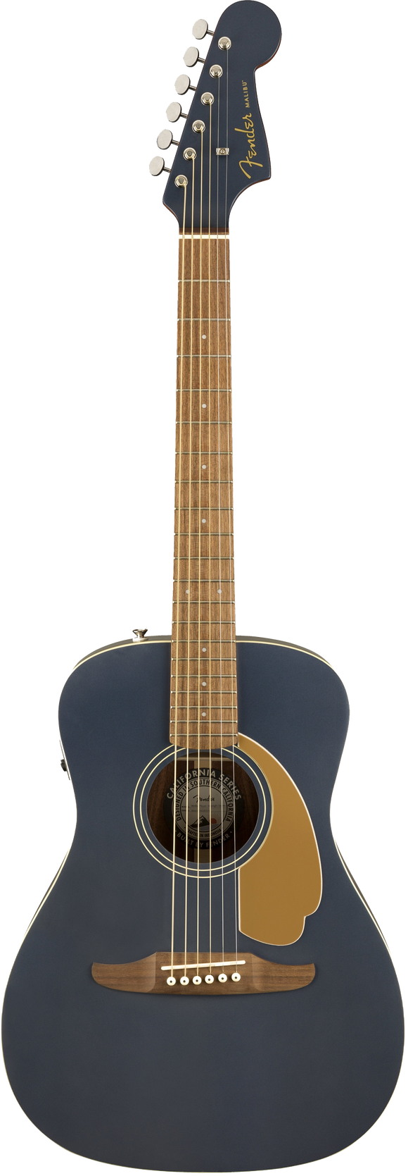 Fender Malibu Player Acoustic / Electric Guitar - Midnight Satin