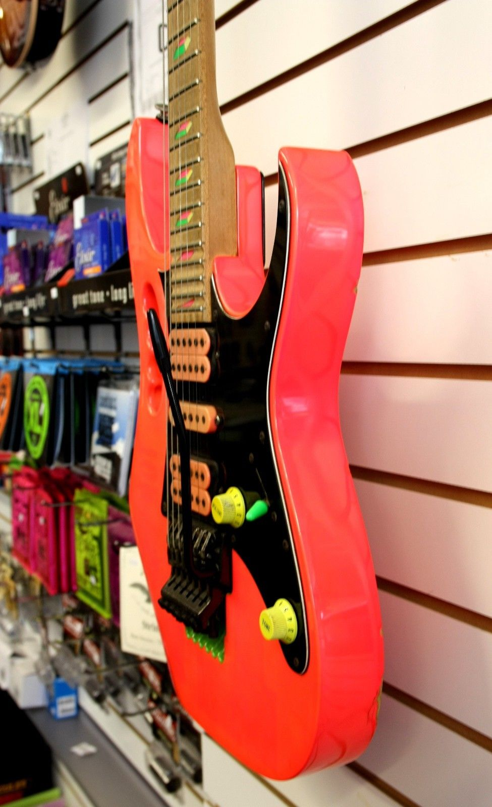 USED - Ibanez JEM777SK Electric Guitar Shocking Pink (1988 Model)