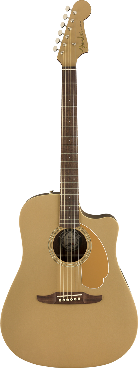 Fender Redondo Player Acoustic / Electric Guitar - Bronze Satin